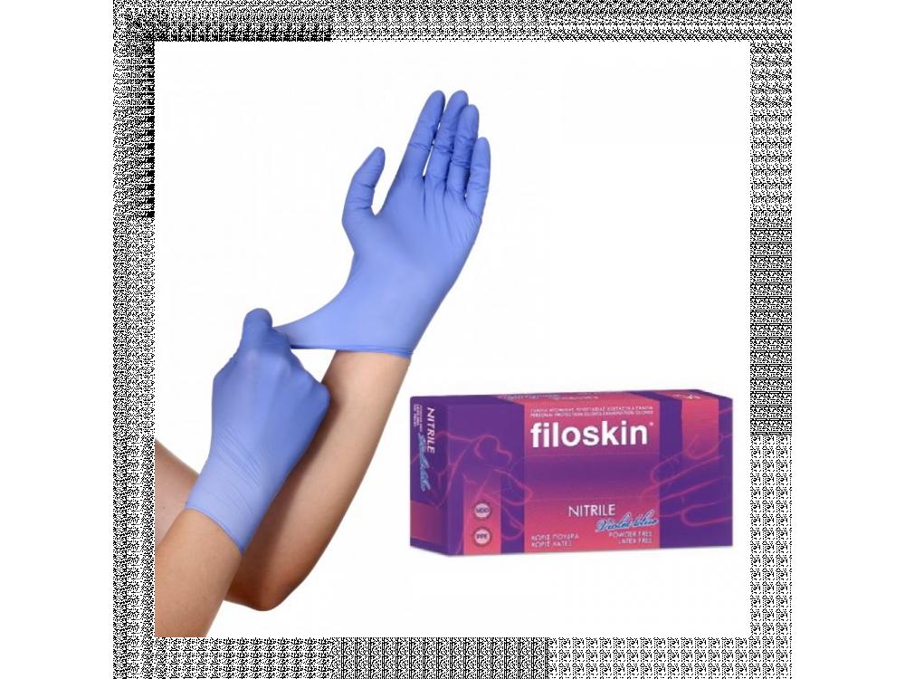 Γάντια Νιτριλίου Filoskin (100τμχ)