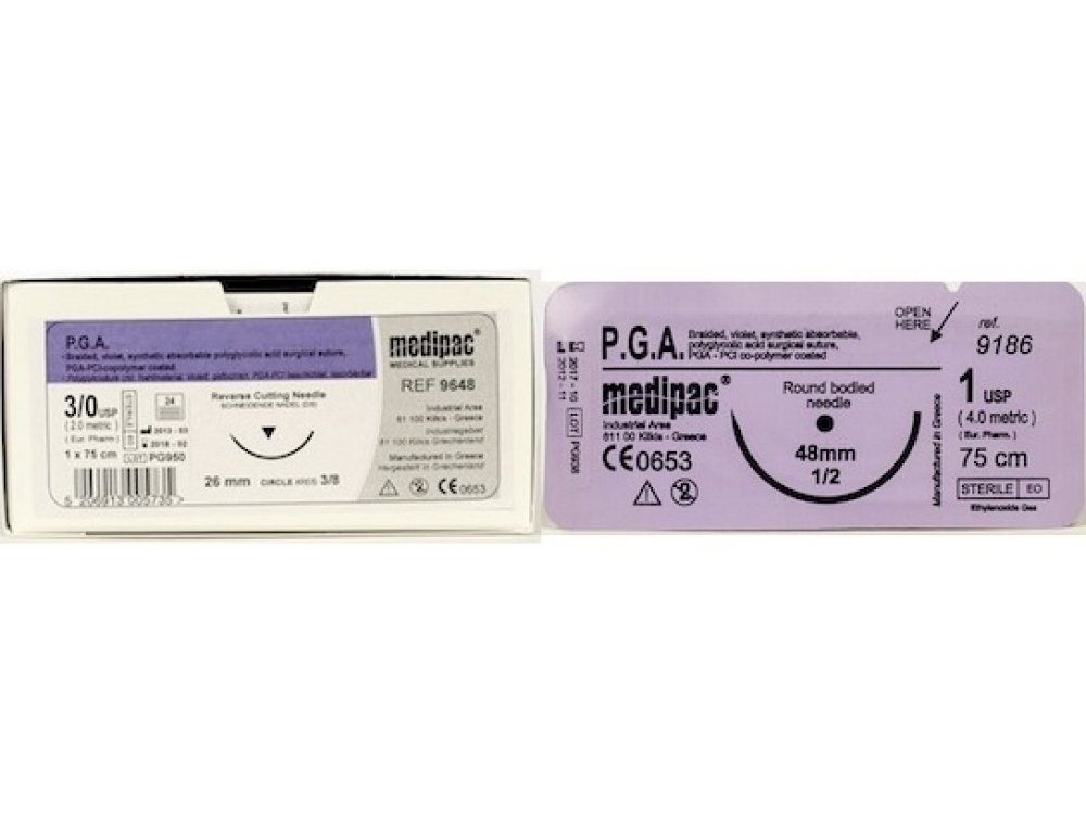 PGA 3.0 Absorbable Suture