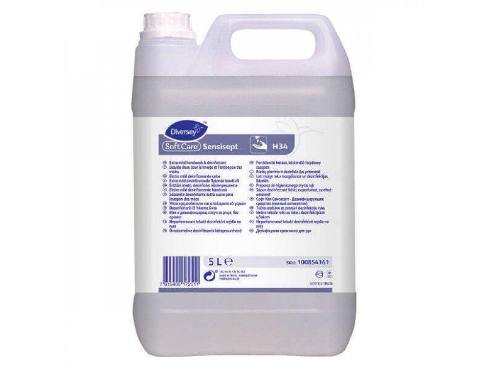 Κρεμοσάπουνο Soft Care Sensisept H34- Ιntellicare 5lt