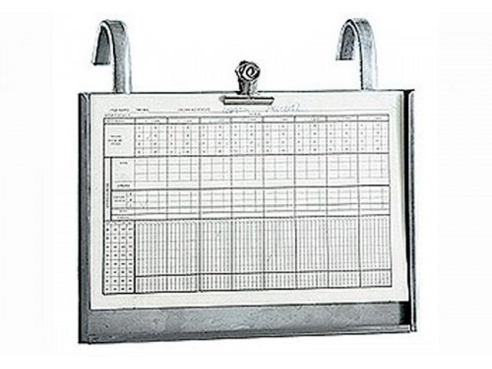 Inox Chart Holder