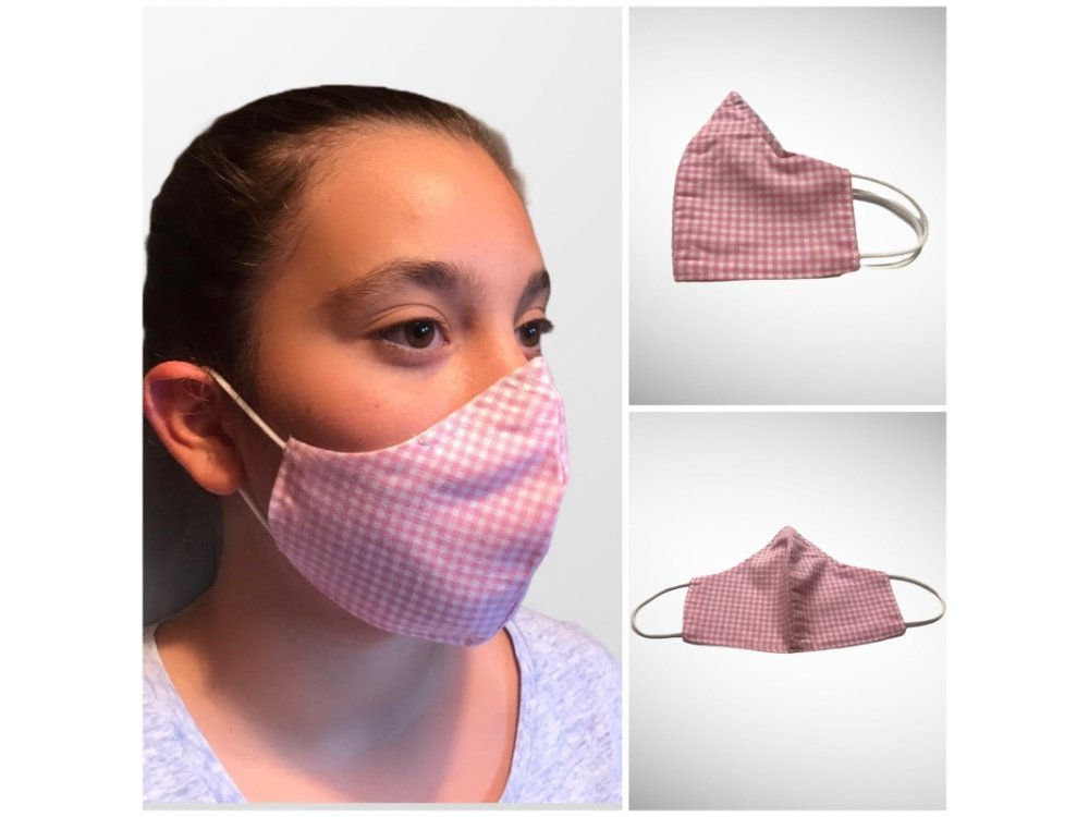 Kids Fabric Cloth Face Mask with patterns