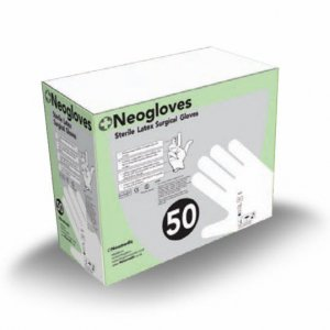 Neogloves Sterile Latex Powdered Surgical Gloves (pair)