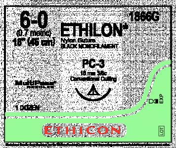 Ethilon 6.0 Suture