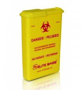 Pocket Biohazard Waste Container