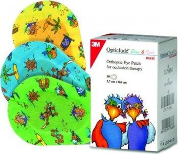 Επιθέματα αυτοκόλλητα οφθαλμολογικά Opticlude