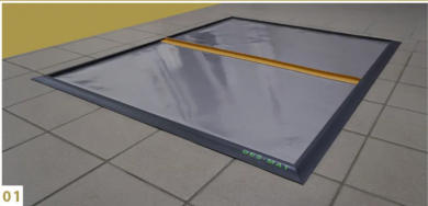 DesMat - Pro 2-stage Disinfection Entry Mat