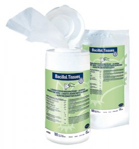 Bacillol Tissues- Disinfectant Wipes (100pcs)
