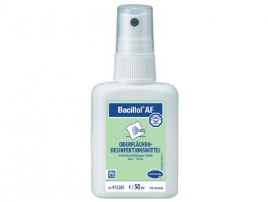 Bacillol ΑF Surface Disinfectant 50ml