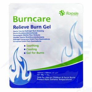 Burncare Hydrogel Burn Dressing 10x10