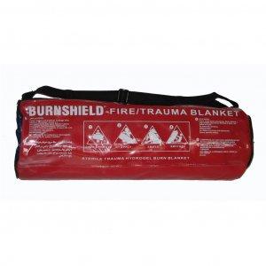 Κουβέρτα επιβίωσης 1.2x1.6m μονή Burnshield