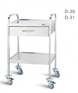 General use Inox Trolley