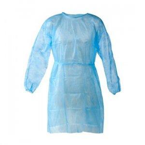 Μπλούζες μίας χρήσης μπλε 30gr  (10τμχ)