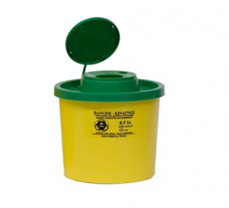 Sharps Container for Needles 2,7lt