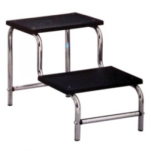 Double Tier Step Stool Inox