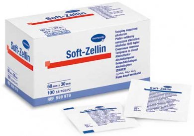 Soft - Zellin Alcohol Swabs (100pcs)