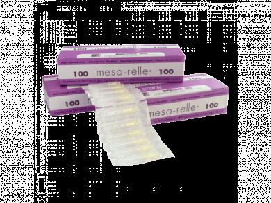 Βελόνες μεσοθεραπείας Mesorelle G30 x4mm (100τμχ)