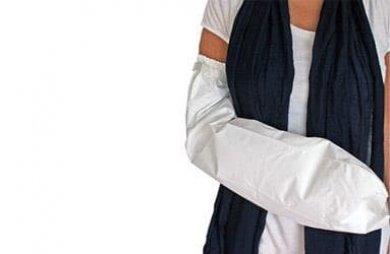 Αδιάβροχο κάλυμμα γύψου χεριών ενηλίκων
