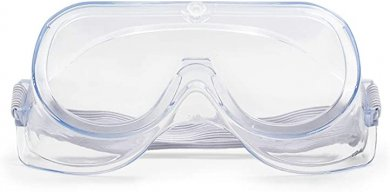 Protective Goggles with elastic Band - Transparent