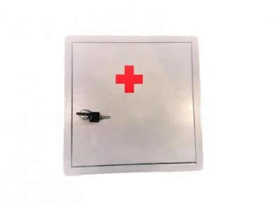 Wall-Mounted Metal First Aid Cabinet